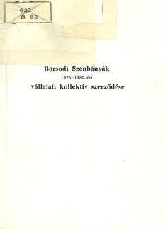 Borsodi szénbányák 1976