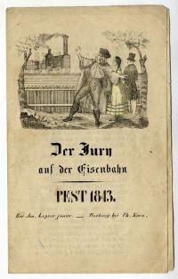Sváb gúnyvers a vasútról, 1843