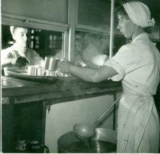 Beloionisz gyár konyhája, fénykép