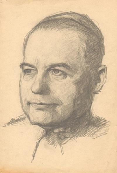 Pap portré