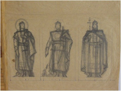 Szent Imre, Szent László, Szent István