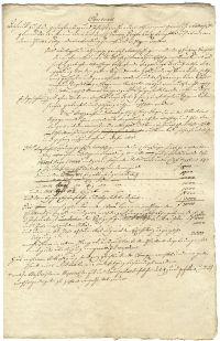 A pesti görög templom díszítéséhez szerződés-terv (1801?)