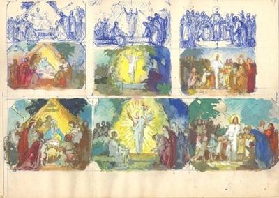 Jézus születése, feltámadása, tanítása