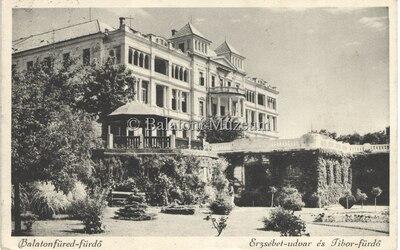 Balatonfüred-fürdő, Erzsébet-udvar és Tibor-fürdő