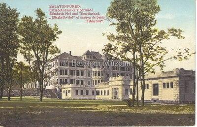 Balatonfüred, Erzsébetudvar és Tiborfürdő