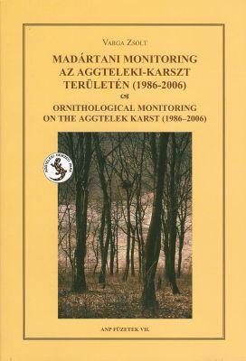 Madártani monitoring az Aggteleki-karszt területén (1986-2006)