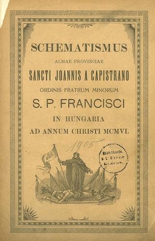 Schematismus almae provinciae Sancti Joannis a Capistrano ordinis fratrum minorum S.P. Francisci