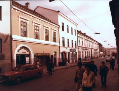 A pécsi belváros rekonstrukciója