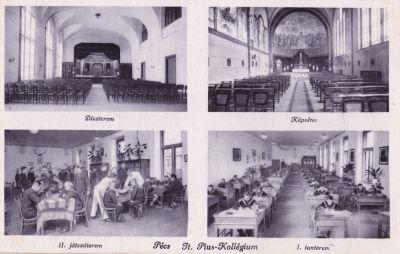 Jt. Pius-Kollégium belső fotói