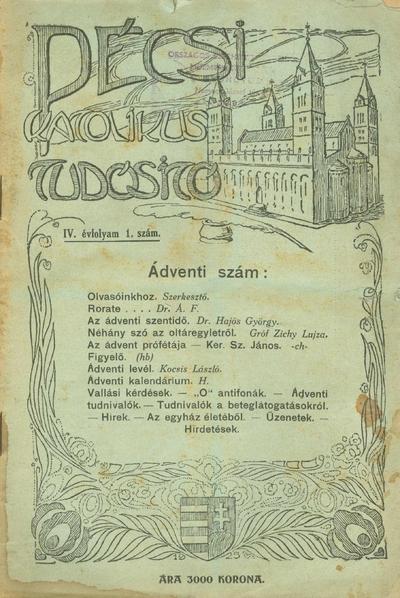 Pécsi Katolikus Tudosító
