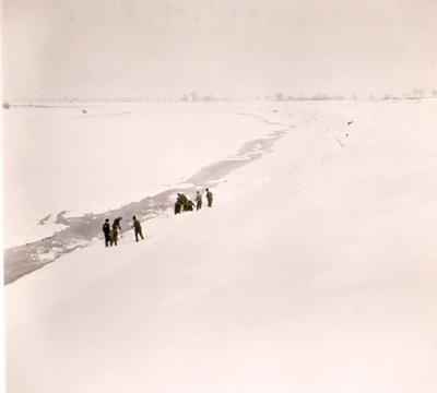 Tisza-kanyar télen 19-20 km-nél