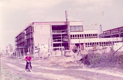 Mártírok Úti Általános Iskola építése