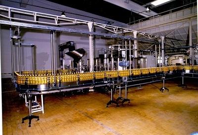Martfűi Növényolajgyár töltőgépsor, palackos