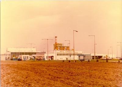 Martfűi Növényolajgyár főbejárata