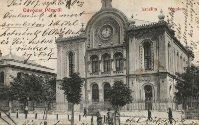 Üdvözlet Pécsről! Izraelita templom