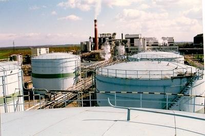 Martfűi Növényolajgyár olajtartályok