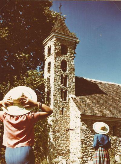 Mánfai Árpád kori templom