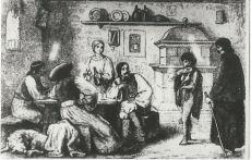 Falusi fogadó az 1700-as években