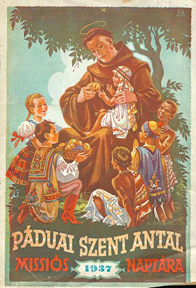 Páduai Szent Antal Missiós naptára