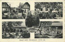 Besnyő üdülő, Máriabesnyő - képeslap, 1930-s évek