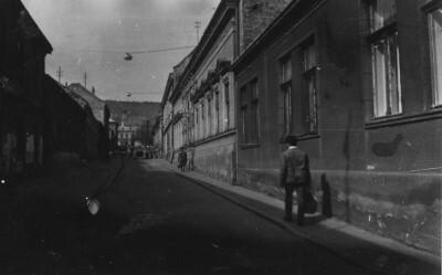 Sörház utca az 1960-as években