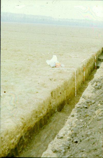 Színes dia, ásatás, Kemenesszentpéter, Dombi-dűlő
