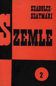 Szabolcs-Szatmári Szemle 1966 2