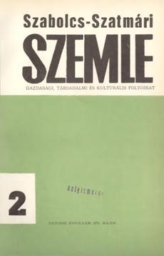 Szabolcs-Szatmári Szemle 1971 2