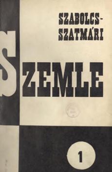Szabolcs-Szatmári Szemle 1967 1