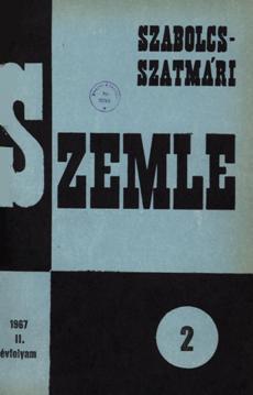 Szabolcs-Szatmári Szemle 1967 2