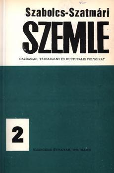 Szabolcs-Szatmári Szemle 1974 2