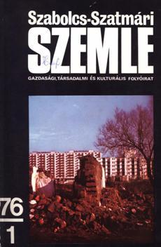 Szabolcs-Szatmári Szemle 1976 1