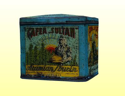 Cafea-Sultan pléhdoboz