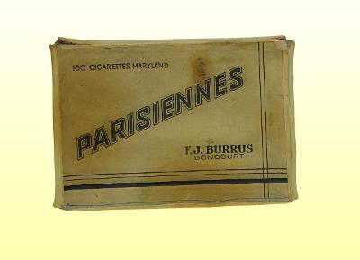 Parisiennes cigarettás doboz