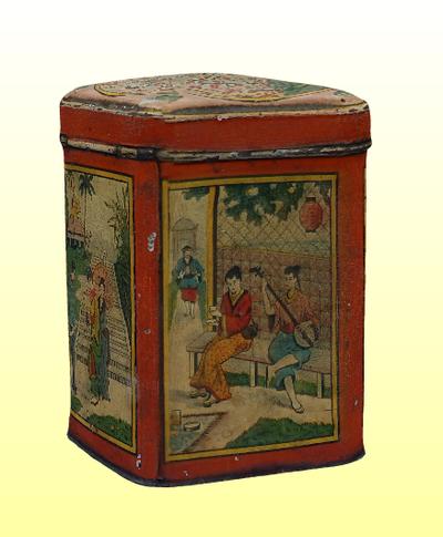 Kínai teás doboz