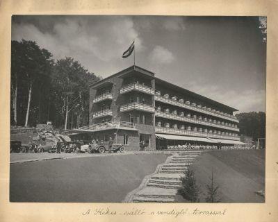 Kékes Szálló, Kékestető, 1930-as évek