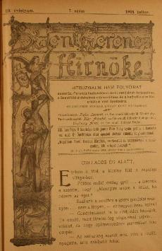 Szent Ferencz hírnöke 1905. július