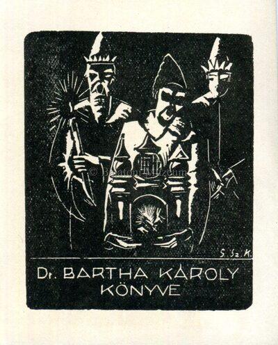 Dr. Bartha Károly könyve