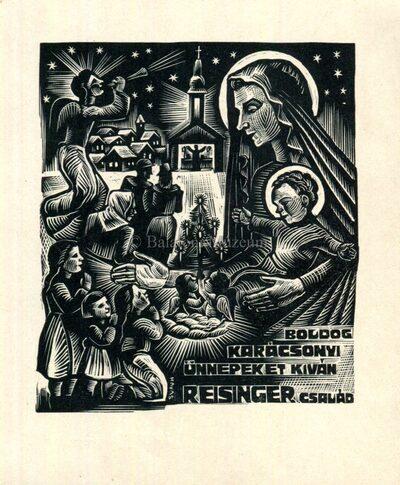 Boldog Karácsonyi Ünnepeket kíván Reisinger család
