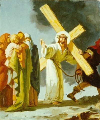 Jézus Szíve templom freskójának fotódokumentációja (8.)