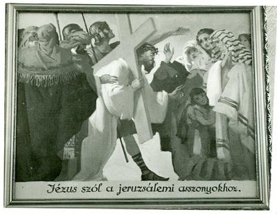 Szent László templom freskójának fotódokumentációja (11.)