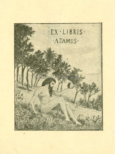 Ex libris Adamus