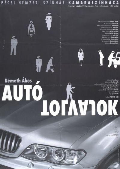 Autótolvajok bemutató plakát