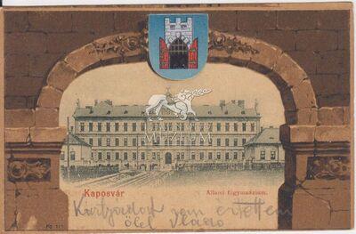 Képeslap-Kaposvár