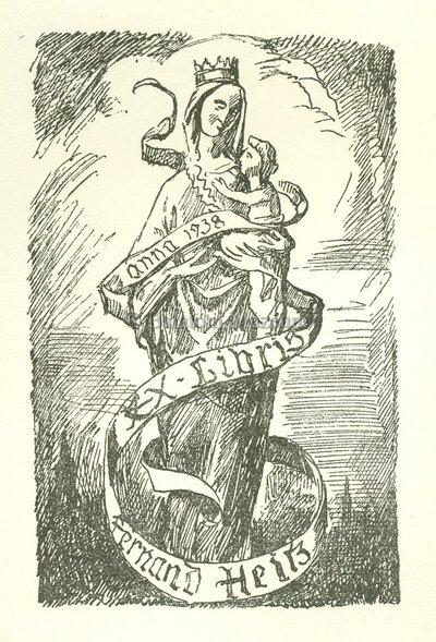 Ex libris Fernand Heitz