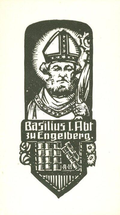 Basilius I. Abt. zu Engelberg