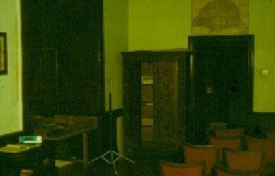 Színes dia, előadóterem, Pápa-Múzeum