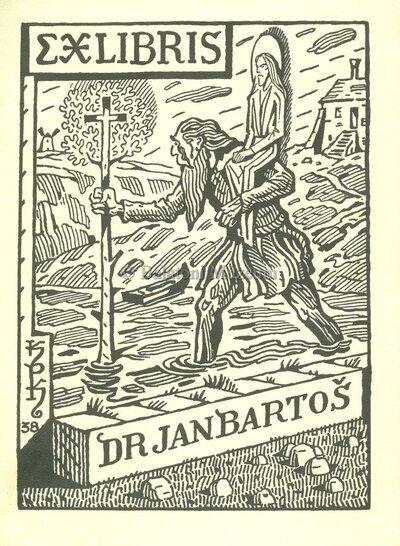 Ex libris Dr. Jan Barton