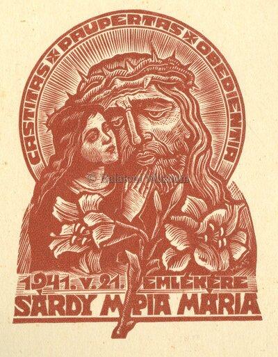 Sárdy M. Pia Mária