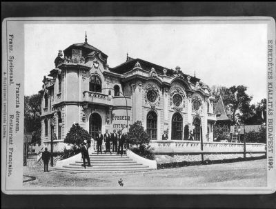 Franczia étterem, Ezredéves Kiállítás Budapest, 1896